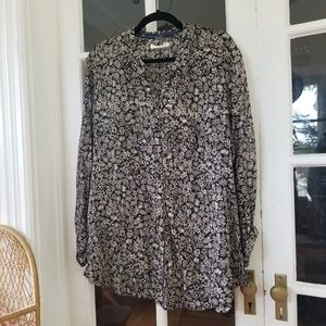 🆕️ Anthro - Floral Button Down Blouse